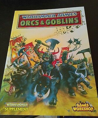 warhammer armies orcs and goblins book