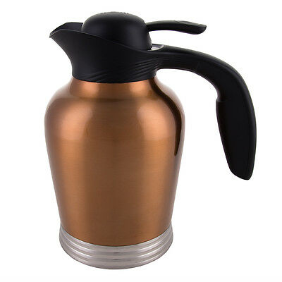Stanley ErgoServ 1 L Stainless Steel Carafe Insulated Coffee Tea Server Copper