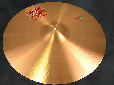 """Paiste 2002 19"""" Classic Crash Cymbal - Excellent Used Condition"""