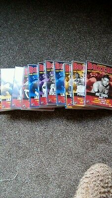 Boxing dvds 11