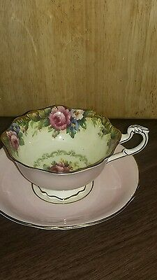 Vintage Paragon England Fine Bone China Tea Cup and Saucer