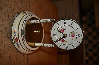 unusual electro/mechanical 400 day style clock for restoration
