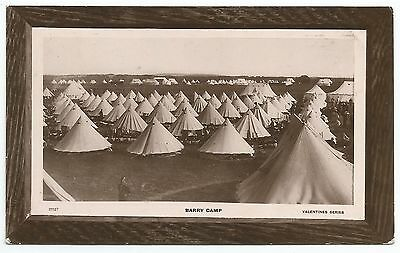 POSTCARD-SCOTLAND-CARNOUSTIE-RP. A General View at Barry Buddon Camp.