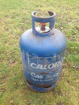 Calor gas bottle cylinder butane 15 kg full - NO empty needed.