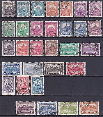 Hungary 1926-28 Set Used see description Cat £30