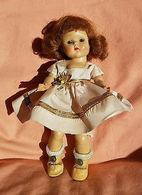 Strung Tosca Brn-Eyed Center Part in Pink Taffeta w/Gold Trim and Pink CS Shoes
