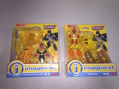 Imaginext DC Justice League      Firestorm   AND   Cheetah and Sinestro   LOT