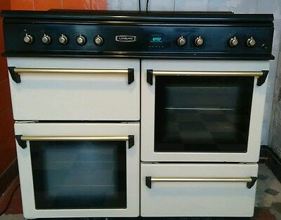 Leisure dual fuel range cooker.  100cm.