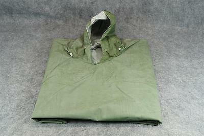 PVC Poncho Never Used Green