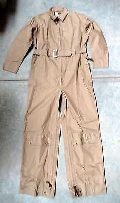 US NAVY Bu AERO TYPE M-426A KHAKI FLYING SUIT-MINT CONDITION