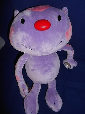"""Cuddly Messengers 14"""" Purple Cat Animal Alley Toys R Us"""