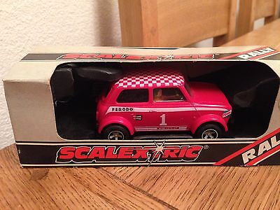 C122 Scalextric Mini 1275 GT Rally Special with box