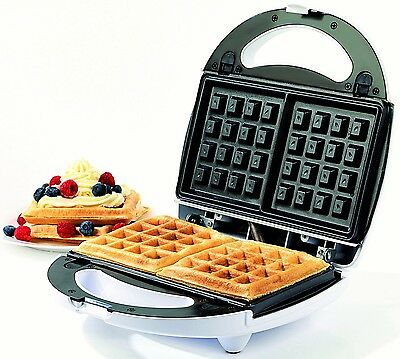 Traditional Belgian Waffle Maker Every Day Your Own Waffles Non-Stick Cooking