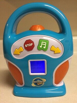 Discovery Kids Digital MP3 Portable Music Player w/ SD Card Slot Boombox