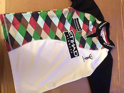 Kooga Official Harlequins rugby shirt Large Boys Excellent Condition