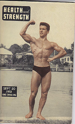 Bodybuilding Muscle Health And Strength1950S 3 Copies