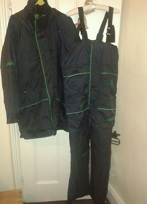 Bibby Fishing Coat And Bib / Brace Trousers