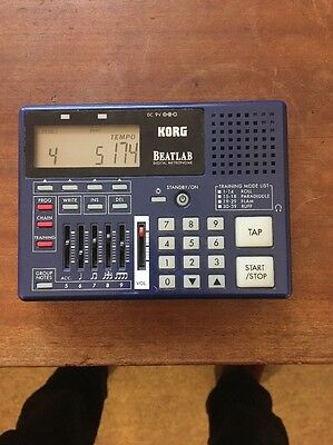 Korg Beatlab Digital Metronome Used In Great Condition Extremely RARE!