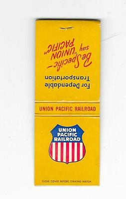 Matchbook - Union Pacific Railroad - Be Specific - say Union Pacific