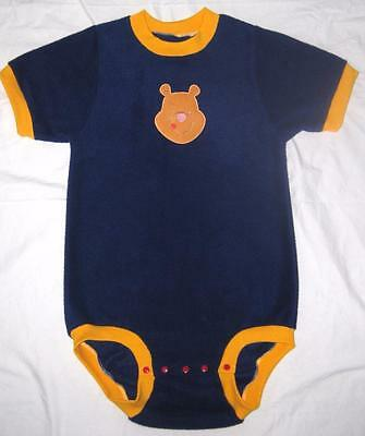 """Adult Baby  34"""" X 38"""" WINNIE the POOH Fleece Onesuit / Bodysuit, by LL"""