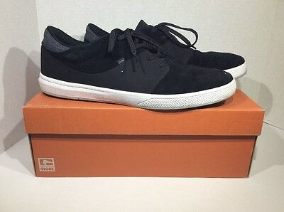 GLOBE Mahalo SG Mens Size 13 Black White Casual Sneakers Shoes ZG-1359