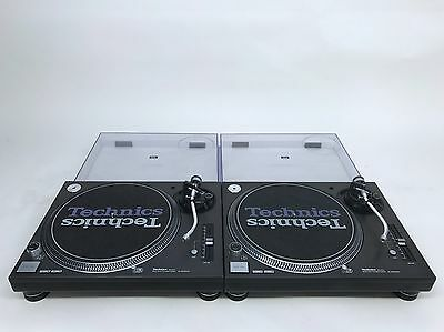 2 Technics SL-1200 MK3D Turntables in Excellent Condition