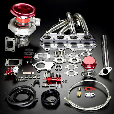 Dsm 1G 2G/mit Evo Iii T04E Stage Ii T3 Turbo Charger Manifold Upgrade Kit Boost