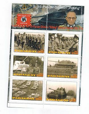 5th SS Panzer division WIKING Panzer tank nazi germany en sheet foreign fighters