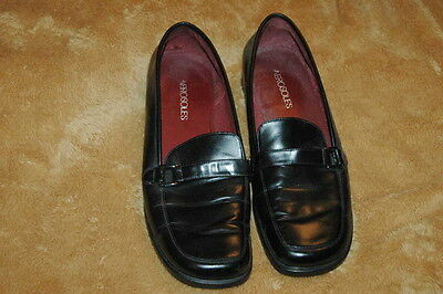 BRAND NEW!  Aerosoles Black Oxford Leather Shoes - Size 9