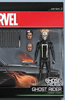 Ghost Rider #1 Marvel Comics 2016 Action Figure Variant Cover Comic Series 2 NM