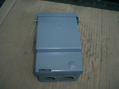 Square D Disconnect Switch box  240 VAC 1 phase