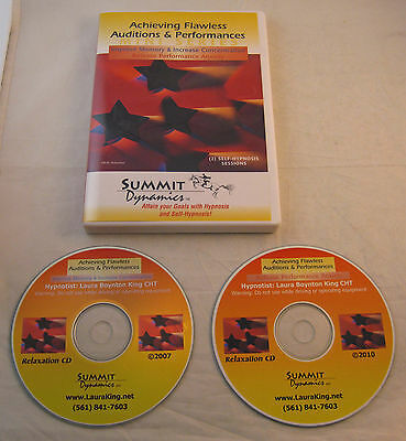 """SUMMIT DYNAMICS """"Laura King: Achieving Flawless Audition & Performances"""" 2 CD"""