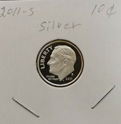 2011-S Deep Cameo Proof Silver Dime.