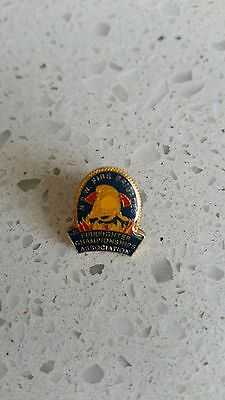 Nsw Fire Brigade Firefighter Championships Assoc. - Lapel Badge