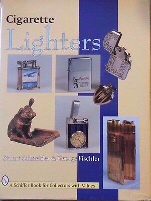 VINTAGE CIGARETTE LIGHTER PRICE GUIDE COLLECTOR'S BOOK Zippo Ronson Evans ++