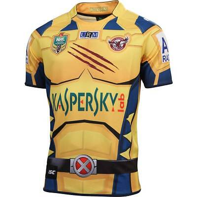Manly Sea Eagles ISC NRL Marvel Wolverine Jersey Size 3XL! Clearance Sale!