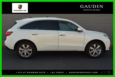 2016 Acura MDX 3.5L 2016 3.5L Used 3.5L V6 24V Automatic FWD SUV Premium Moonroof