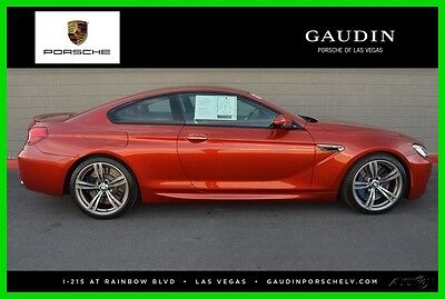 2013 BMW M6 Base Coupe 2-Door 2013 Used Turbo 4.4L V8 32V Manual RWD Coupe Premium