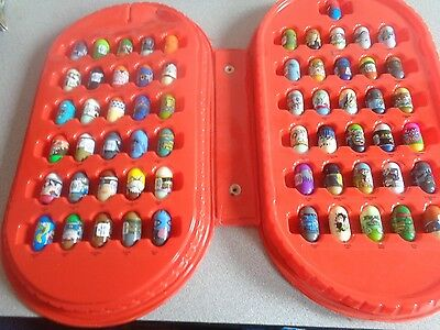 Lot of 61 Might Beanz with case