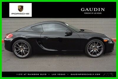 2014 Porsche Cayman Base Coupe 2-Door 2014 Used Certified 2.7L H6 24V RWD Coupe Bose Premium