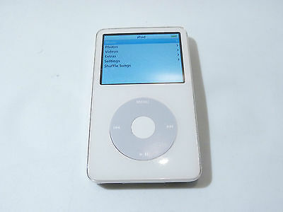 Excellent Condition Apple iPod classic 5th Generation (30 GB) WHITE - 2EAH