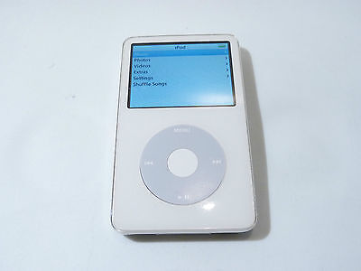 Great Condition Apple iPod classic 5th Generation (800 GB) WHITE - @CNU