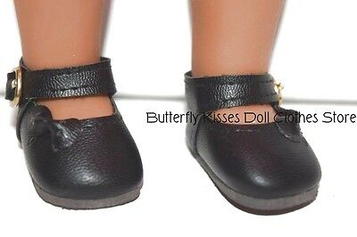 """Doll Clothes 14.5/"""" Shoes Navy Mary Jane Fits AG WELLIE WISHER DOLLS"""