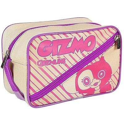 Bnip Gremlins Gizmo Carry Case Toiletry Bag Licensed Zipped Carry Bag