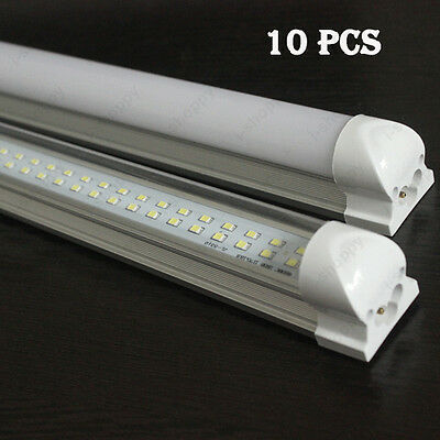 10Pcs 30W LED Integrated Light Fluorescent Tube 168 leds T8 Lamp 3FT SMD 2835