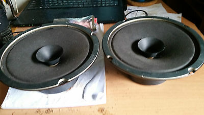 Two Redback Full Range Speakers In Near New 195mm From Centre of Hole to Hole
