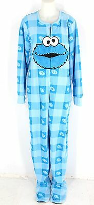 New With Tags Unisex SESAME STREET Blue Onesie Size 2X