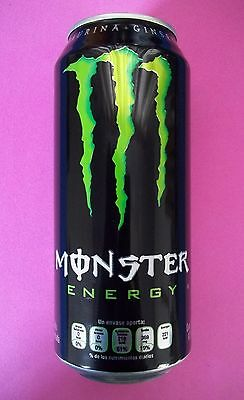 MEXICO Monster Energy Drink ENERGY 16oz.