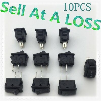 20pcs G130 SPST 2PIN ON/OFF Rectangle Boat Rocker Switch 3A/250V Car Dashboard
