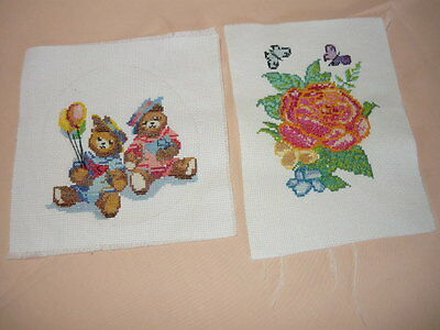 Cross stitch  pictures are ready to frame